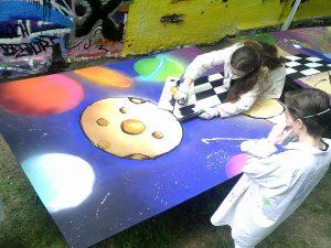 """Workshop """"Graffiti"""""""