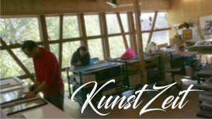 KunstZeit im Atelier in Kriebstein
