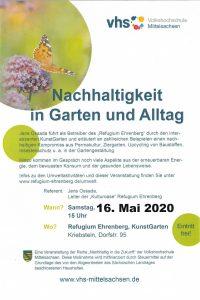"""""""Nachhaltigkeit in Garten- und Alltag"""""""